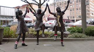 Dance Blog sculpture